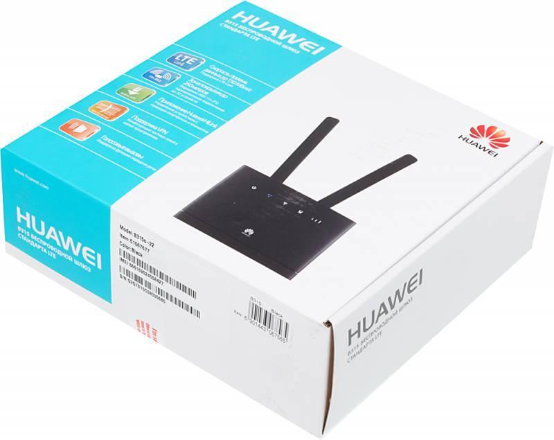 Интернет-центр Huawei B315s-22 черный (51067677) - фото 9