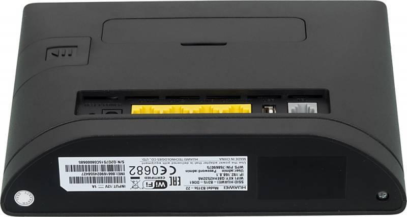Интернет-центр Huawei B315s-22 черный (51067677) - фото 5