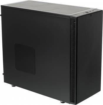 Корпус Fractal Design Define S черный/черный, w/o PSU, нижнее расположение БП, форм-фактор ATX, длина видеокарты до 425мм, 9x120mm, 9x140mm, 1x180mm, 2xUSB3.0, audio