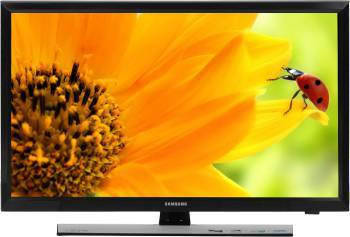 Телевизор LED Samsung T24E310EX черный, диагональ экрана 23.6 (59.94 см), HD READY (720p), частота обновления 50Hz, тюнер DVB-T2, DVB-C, USB разъем
