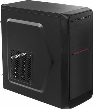 Корпус Accord D-50 черный, w/o PSU, верхнее расположение БП, форм-фактор ATX, длина видеокарты до 250мм, 1x92mm, 3x120mm, 1x140mm, разъемы 4xUSB2.0, 1xUSB3.0, audio