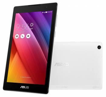 Планшет Asus ZenPad C Z170CG-1B019A белый, процессор Intel Atom x3-C3200-RK четырехъядерный, оперативная память 1Gb, встроенная память 16Gb, диагональ экрана 7, IPS, 1024x600, поддержка 3G, WiFi, BT, камера 2Mpix/0.3Mpix, GPS, Android 5.0, поддержка карт