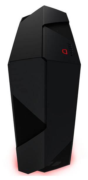 Корпус ATX NZXT Noctis 450 CA-N450W-M1 черный/красный (CA-N450W-M1) - фото 1