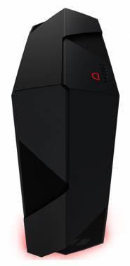 Корпус ATX NZXT Noctis 450 черный/красный (CA-N450W-M1)
