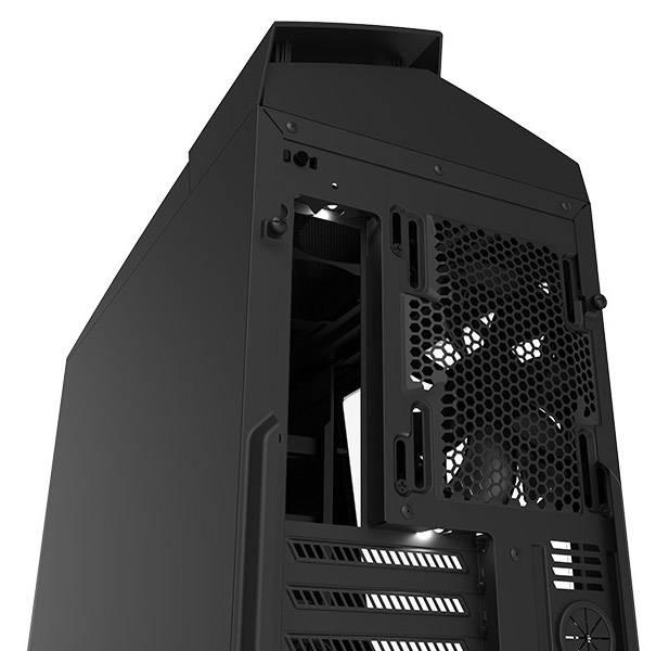 Корпус ATX NZXT Noctis 450 CA-N450W-M1 черный/красный (CA-N450W-M1) - фото 5