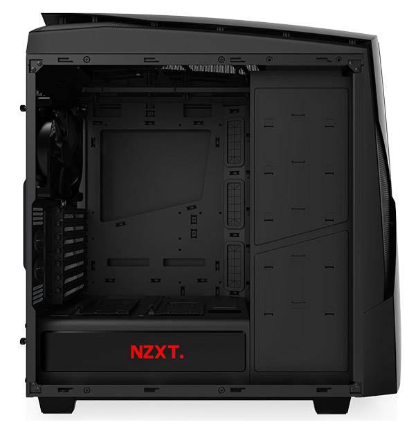 Корпус ATX NZXT Noctis 450 CA-N450W-M1 черный/красный (CA-N450W-M1) - фото 6