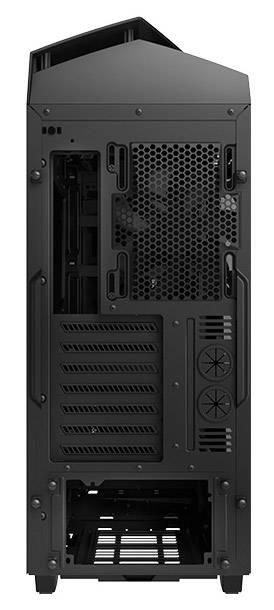 Корпус ATX NZXT Noctis 450 CA-N450W-M1 черный/красный (CA-N450W-M1) - фото 9