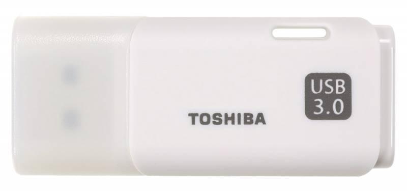 Флеш диск Toshiba Hayabusa U301 16ГБ USB3.0 белый - фото 1