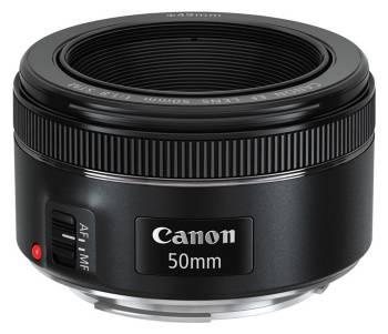 Объектив Canon EF STM 50mm f / 1.8
