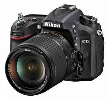 Фотоаппарат Nikon D7100 1 объектив черный