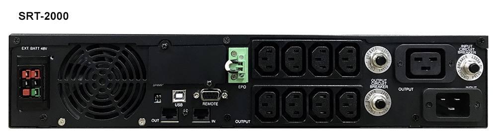ИБП Powercom Smart King RT SRT-1500A черный - фото 1