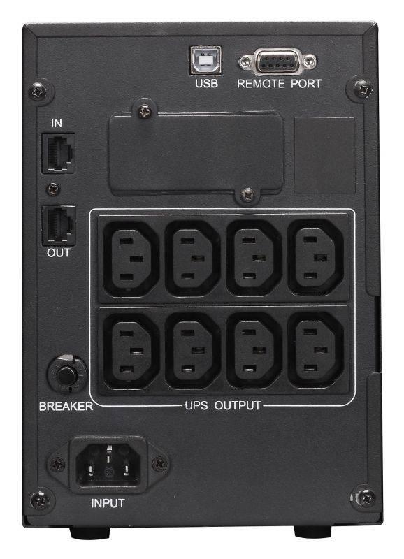 ИБП Powercom Smart King Pro+ SPT-2000 черный - фото 3