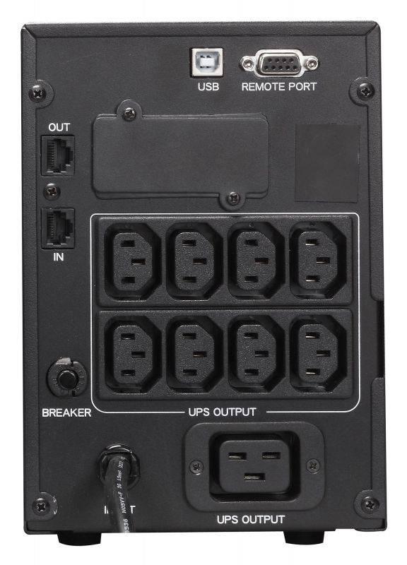 ИБП Powercom Smart King Pro+ SPT-2000 черный - фото 4