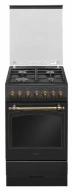 Плита комбинированная Hansa FCMA58109 черный