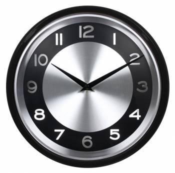 Настенные часы Бюрократ WallC-R24P аналоговые черный