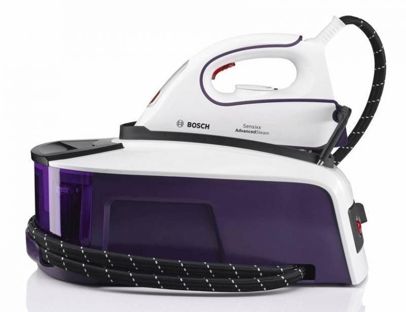 Паровая станция Bosch TDS2241 белый/фиолетовый - фото 2