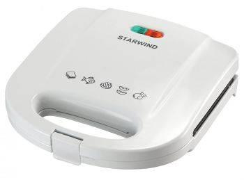 Сэндвичница Starwind SSW2111 белый