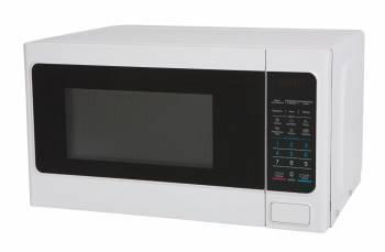 Микроволновая Печь Midea EM820CAA-W белый, мощность 800Вт, объем 20л, покрытие камеры эмаль, электронное управление