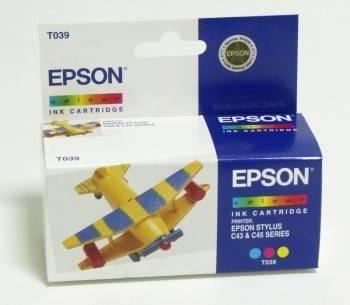 Картридж струйный Epson C13T03904A многоцветный
