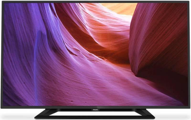"""Телевизор LED 32"""" Philips 32PFT4100/60 черный - фото 1"""