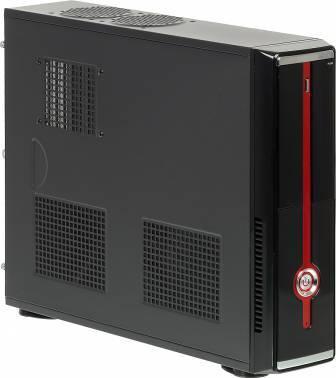 Корпус Formula R-120B черный/красный, мощность БП 350W, нижнее расположение БП, форм-фактор ATX, длина видеокарты до 250мм, 4x80mm, разъемы 2xUSB2.0, audio