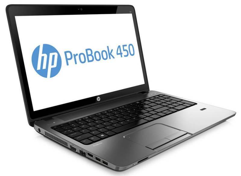 "Ноутбук HP ProBook 450 G2  15.6"" 1366x768 Intel Pentium 3805U 1.9ГГц 6144МБ DDR3L 1600МГц 1000Гб DVD-RW Intel HD Graphics Windows 7 Professional 64-bit BT - фото 2"