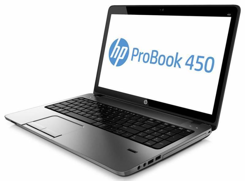 "Ноутбук HP ProBook 450 G2  15.6"" 1366x768 Intel Pentium 3805U 1.9ГГц 6144МБ DDR3L 1600МГц 1000Гб DVD-RW Intel HD Graphics Windows 7 Professional 64-bit BT - фото 3"