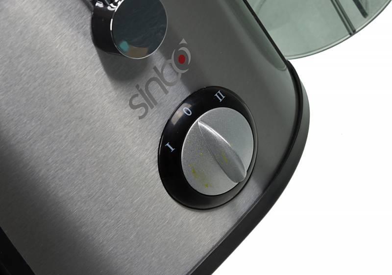 Соковыжималка центробежная Sinbo SJ 3122A серебристый - фото 5