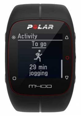 Часы спортивные Polar M400 HR черный