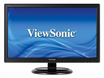 Монитор ViewSonic 21.5 VA2265S-3 черный MVA LED 5ms 16:9 DVI матовая 600:1 250cd 90гр/65гр 1920x1080 D-Sub FHD