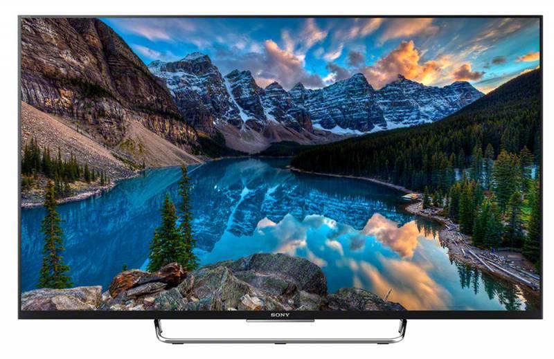 """Телевизор LED 50"""" Sony BRAVIA KDL50W808CBR2 черный/серебристый - фото 1"""