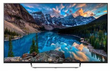 Телевизор LED 50 Sony BRAVIA KDL50W808CBR2 черный / серебристый