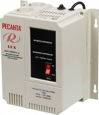 Стабилизатор напряжения Ресанта АСН-1000Н / 1-Ц серый
