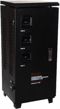 Стабилизатор напряжения Ресанта ACH-9000/3-ЭМ серый (63/4/4)
