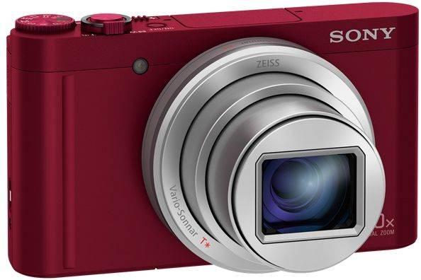 Фотоаппарат Sony Cyber-shot DSC-WX500 красный - фото 2