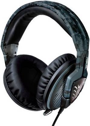 Наушники с микрофоном Asus Echelon Navy камуфляж - фото 1