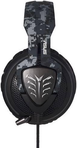 Наушники с микрофоном Asus Echelon Navy камуфляж - фото 2