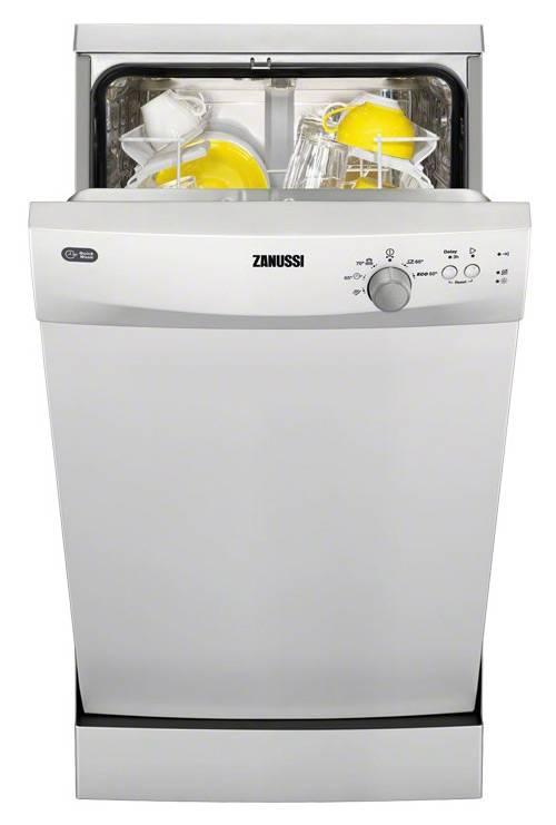 Посудомоечная машина Zanussi ZDS91200SA белый - фото 1
