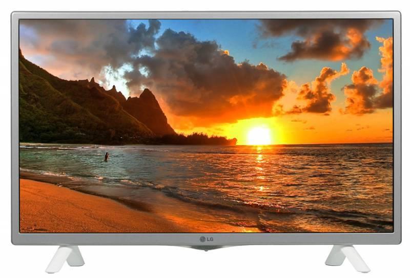 "Телевизор LED 28.5"" LG 28LF498U серебристый/белый - фото 1"