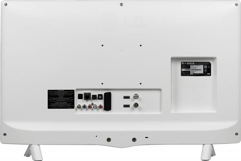 "Телевизор LED 28.5"" LG 28LF498U серебристый/белый - фото 4"