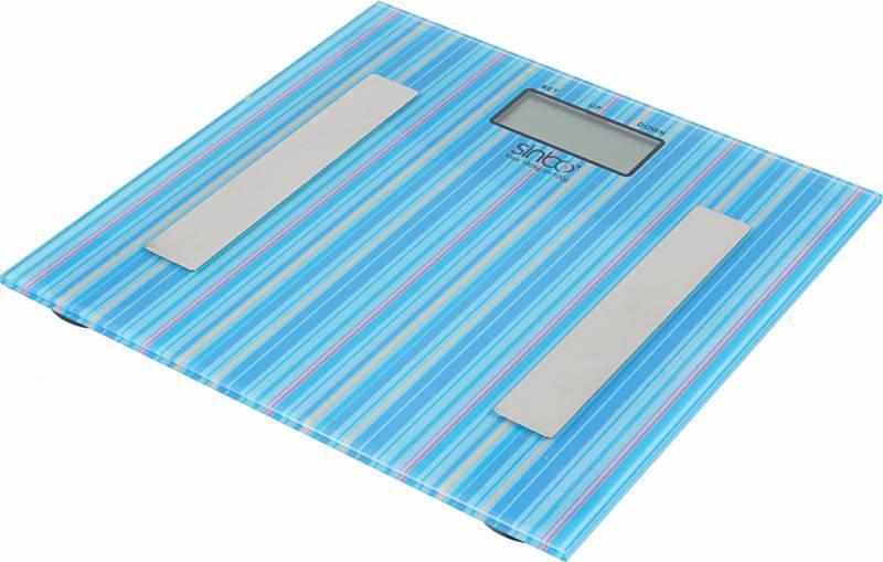 Весы напольные электронные Sinbo SBS 4432 синий - фото 1