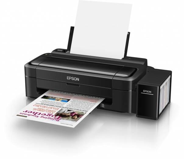 Принтер Epson L132 черный - фото 2