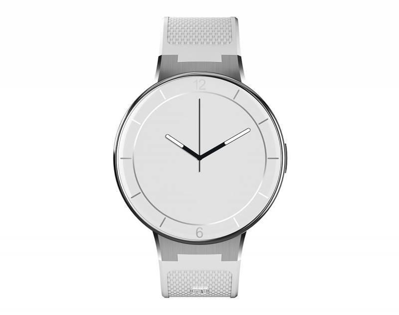 """Смарт-часы Alcatel Onetouch Watch SM02 1.22"""" серебристый/белый - фото 1"""