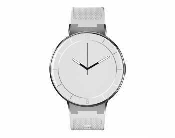 Смарт-часы Alcatel Onetouch Watch SM02 1.22 серебристый / белый
