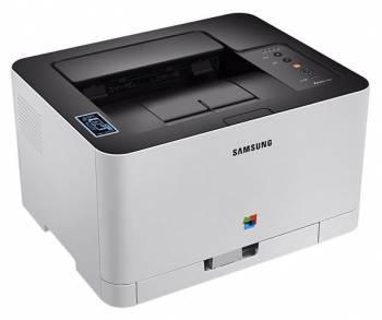Принтер Samsung SL-C430W белый / черный