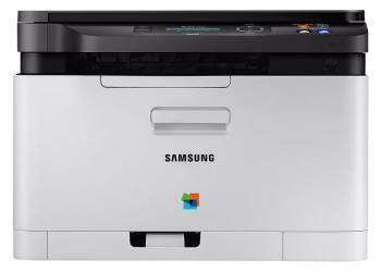 МФУ Samsung SL-C480W серый / черный
