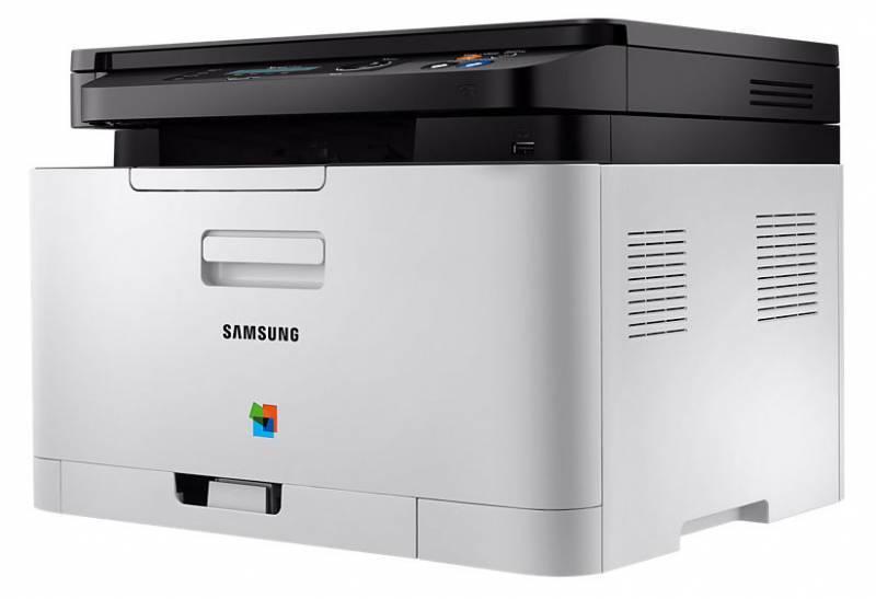 МФУ Samsung SL-C480W серый/черный - фото 3