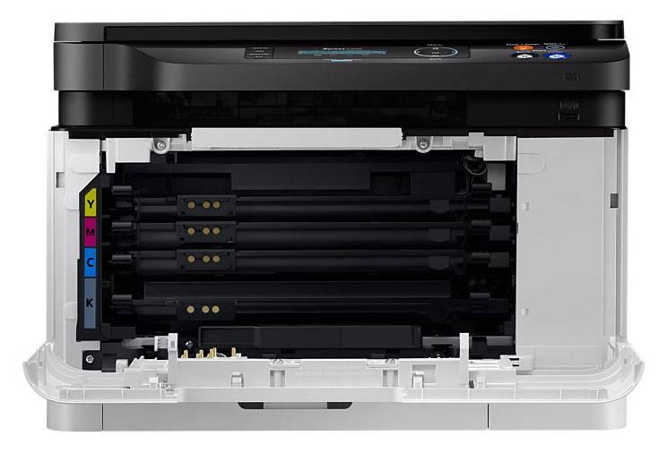 МФУ Samsung SL-C480W серый/черный - фото 4