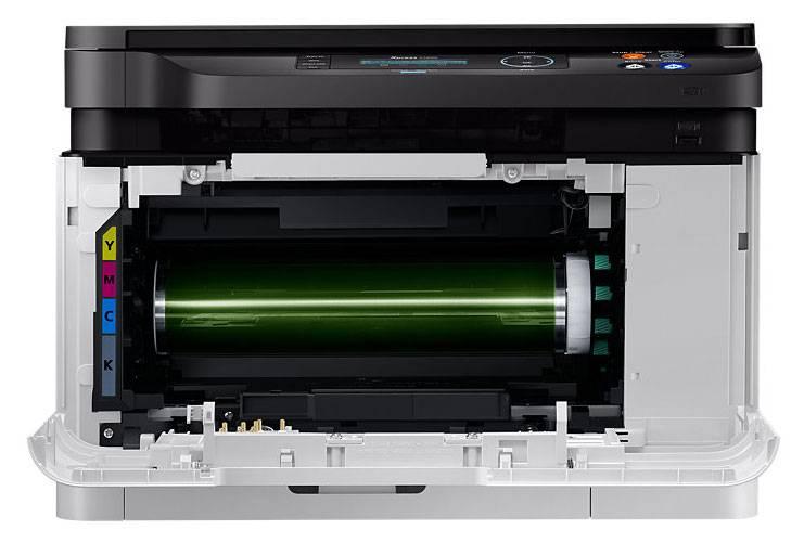 МФУ Samsung SL-C480W серый/черный - фото 5