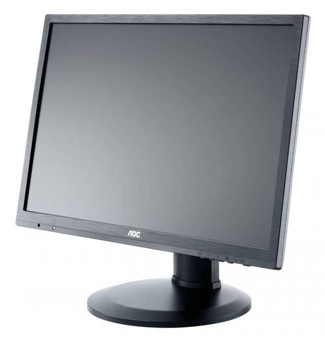 """Монитор 24"""" AOC Professional e2460Pq/bk черный - фото 2"""